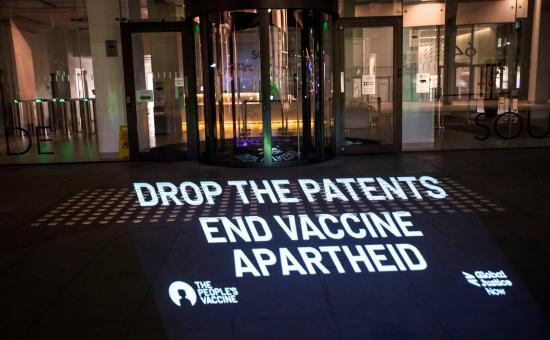 Drop Covid-19 vaccine patents
