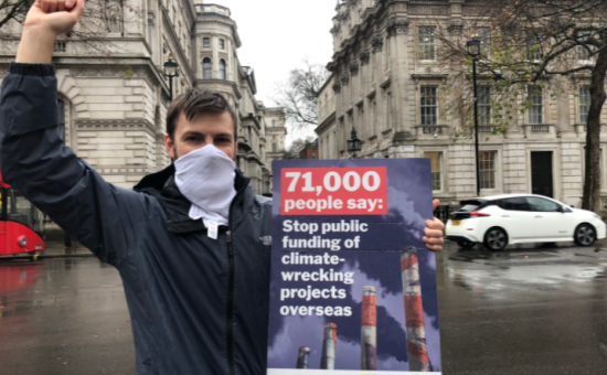 Petititon for government to stop funding fossil fuels