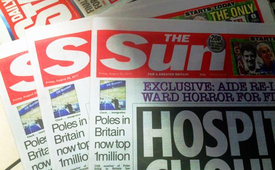 The Sun tabloid