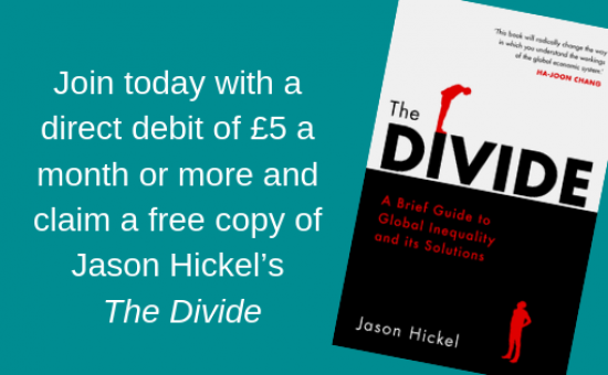 'The Divide' by Jason Hickel