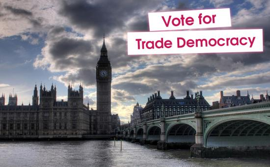 Vote for trade democracy